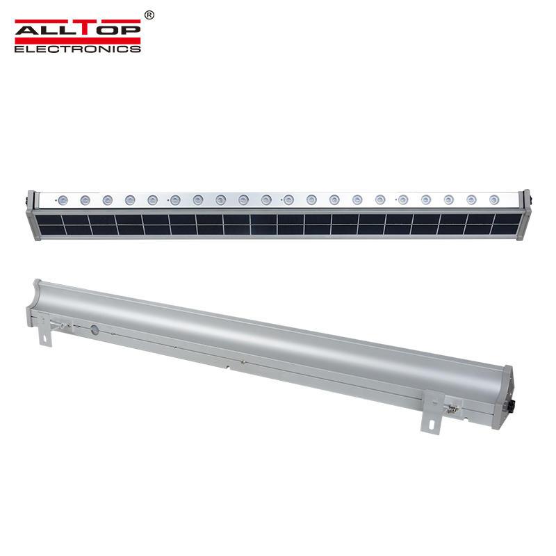 ALLTOP High brightness Waterproof long life 10w 20w IP65 solar led wall washer