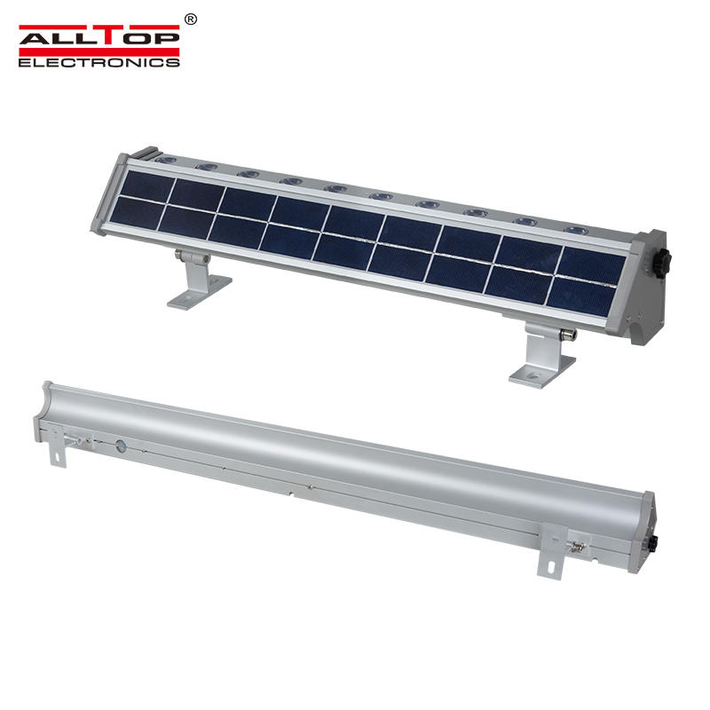 ALLTOP High brightness Waterproof long life 10w 20w IP65 solar led wall washer