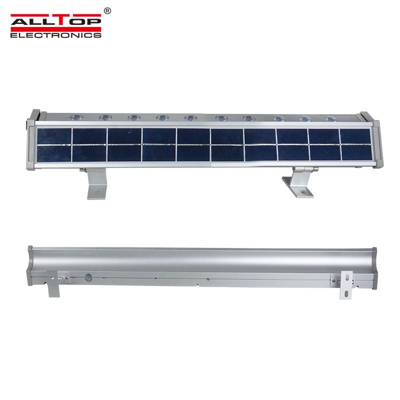 ALLTOP High lumens outdoor IP65 waterproof Aluminum 10w 20w solar led flood light