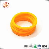 Yellow Gas Impermeability Resistance NBR Rubber O Ring for Cylinder