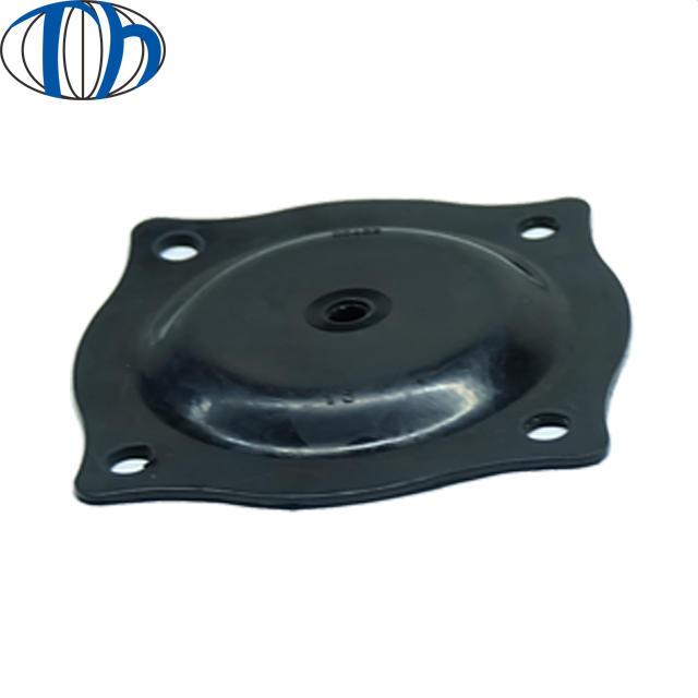 Rubber diaphragm Fabric reinforced pneumatic regulator actuator membrane control valve pump diaphragm Silicone Diaphragm