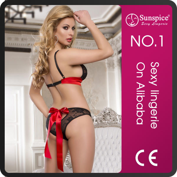 2015 new style women sexy red night lingerie