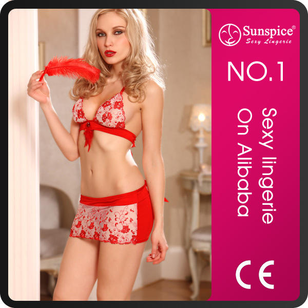 Sunspice hot sale fashion style Lace sleepwear japanese mature women sexy lingerie underwear