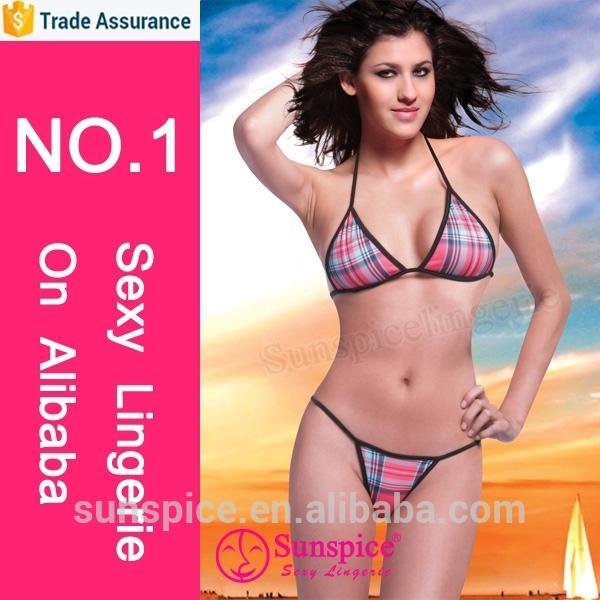 Sunspice lingerie manufacturer top quality guarantee girls sexy skin-tight bikini lingerie