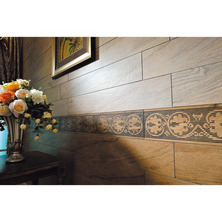 Decorative wall wood tiles exterior