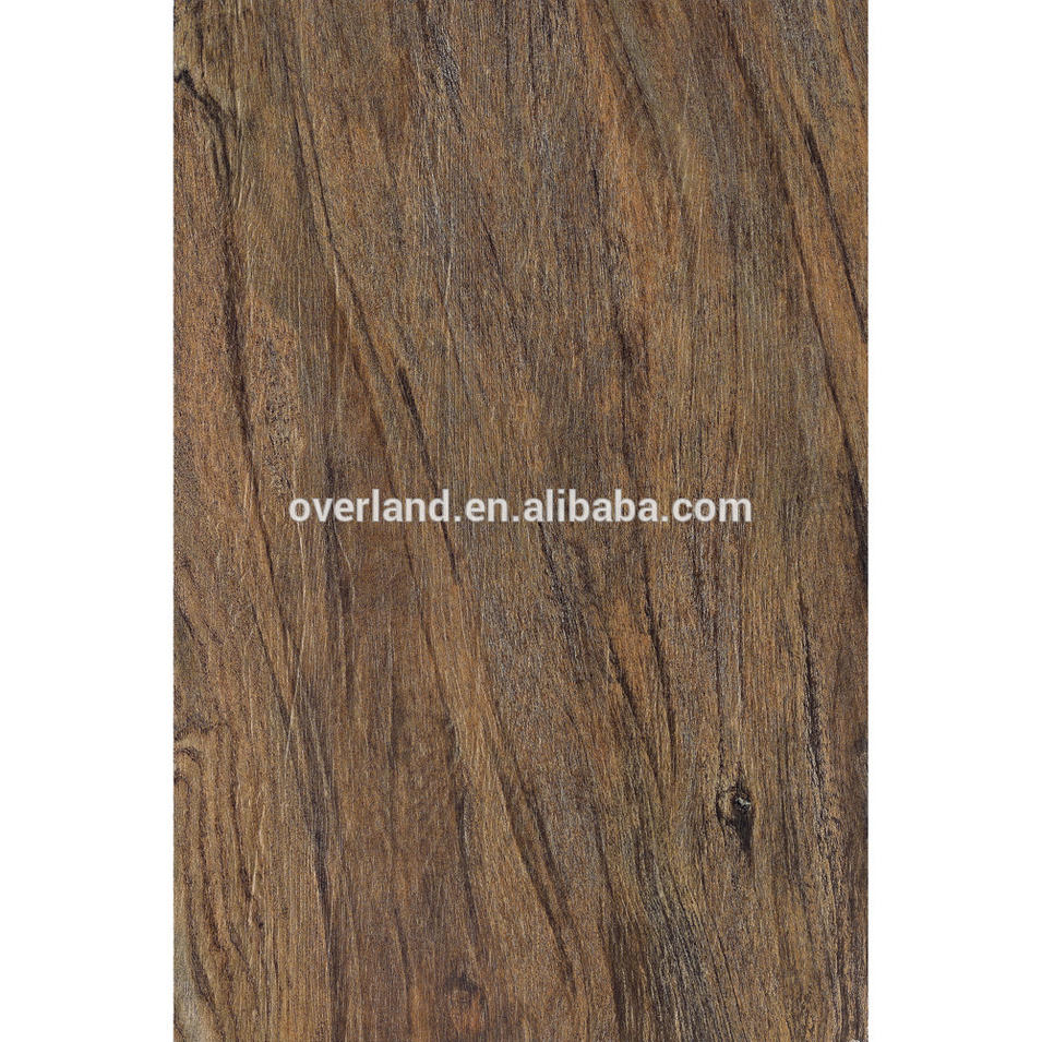 Wood plank look ceramic flooring tile