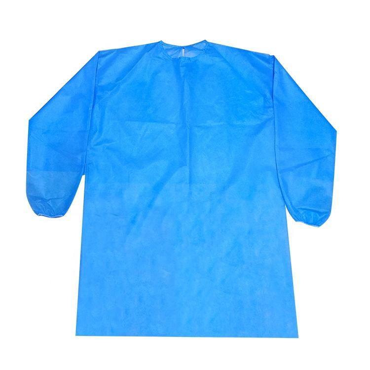 Disposable coverall type 5/6 breathable ppe gown set