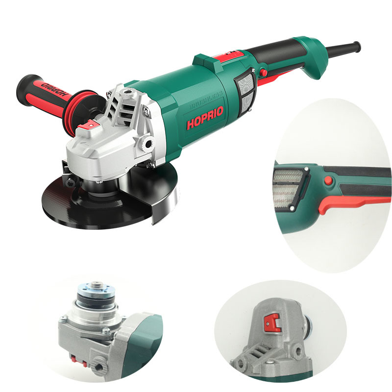 7 inch 2600W big power brushhless angle grinder HOPRIO factory directly