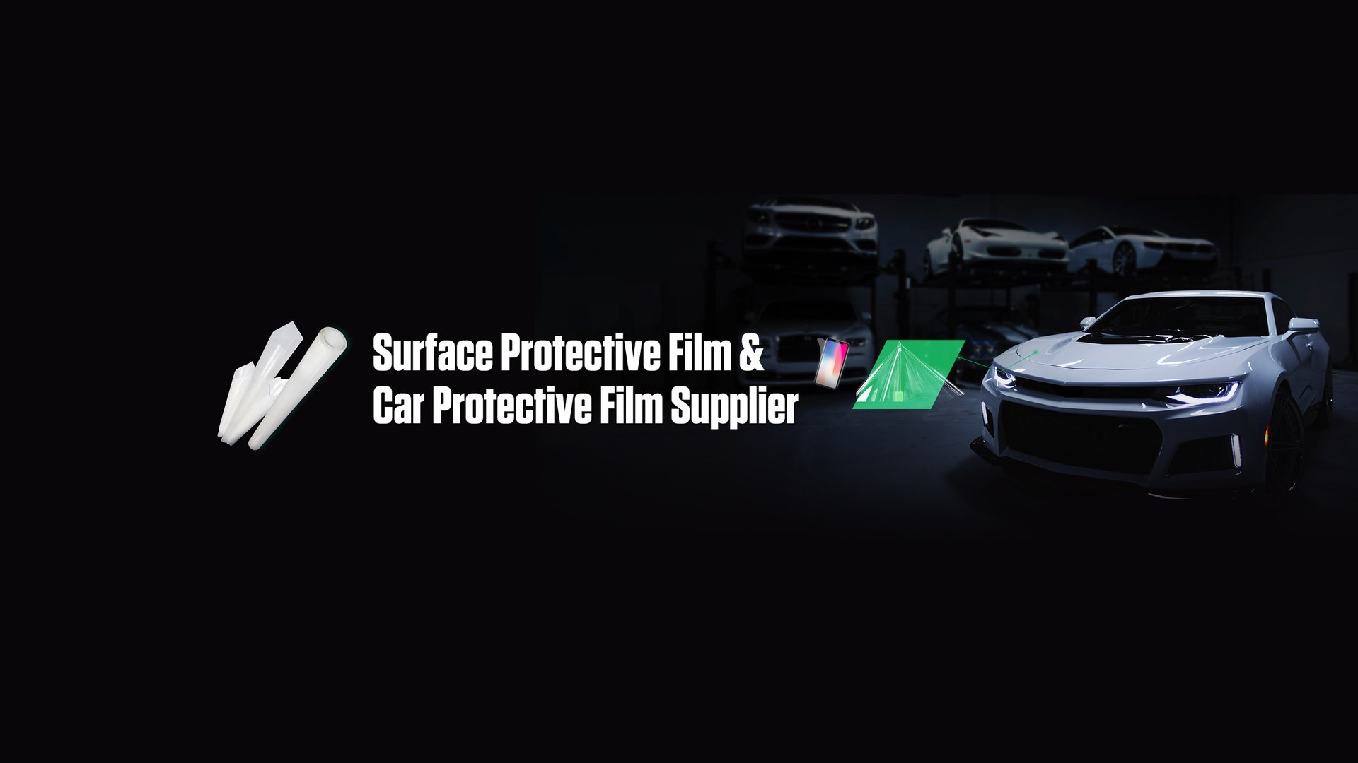 Scratch resistant TPU Full Body Car Protective Film PPF transparent car film