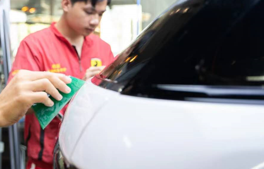 auto repair anti yellowing clear bracar paint protection film TPU PPF