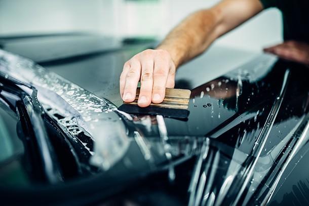 anti scratch car paint protection film TPU TPH PPF