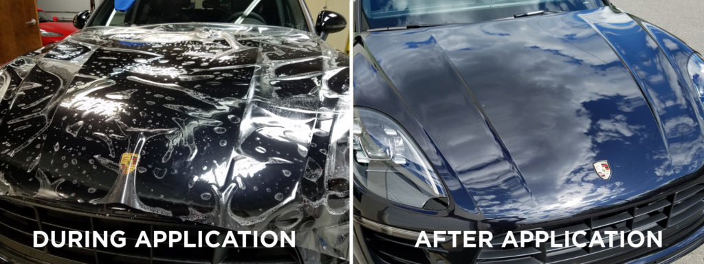TPU PPF vehicle clear bra heat-healing Invisible Paint Protective film