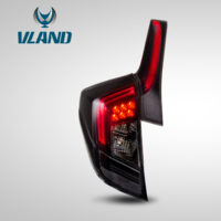Vland factory LED taillights for Fit GK5 [RS version] 2014-2018 for Jazz full-LED tail lights plug and play