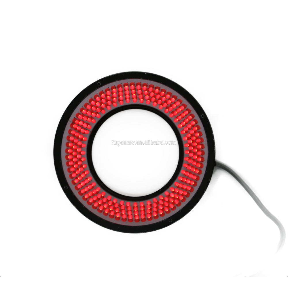 wholesale 24V low price automatic machine vision low angle illumination led ring light for industrial inspection in China