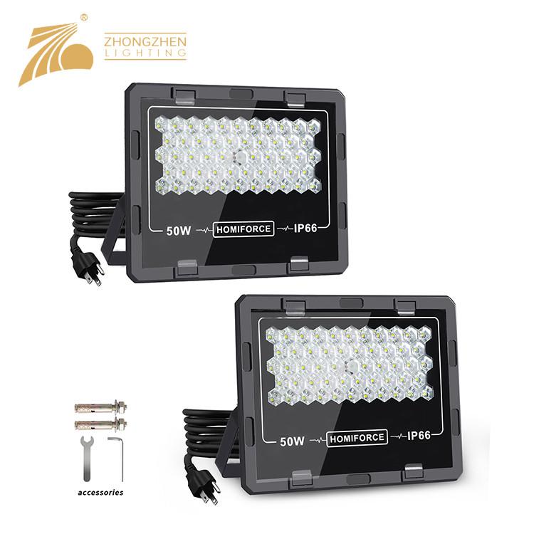 Professional Quality Outdoor Stadium IP66 Waterproof Aluminum 50W LED Flood Light