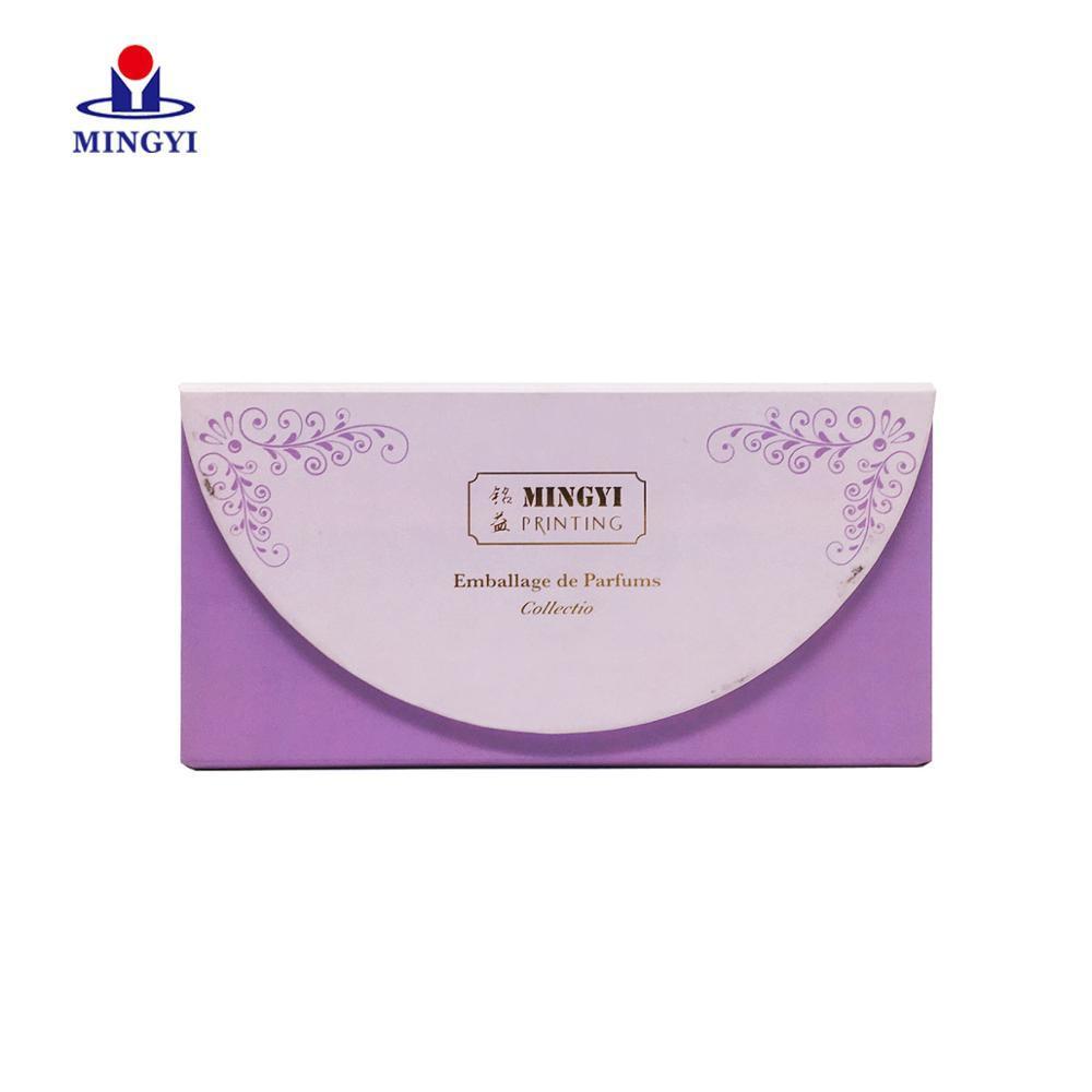3D Mink Round Circle Rose Eyeshadow Palette Perfume Luxury Paper for Lipstick Mascara Cream Eyelash Packaging Box Black And Gold