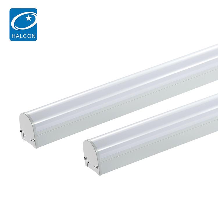 High lumen 18watt 24watt 36watt 42watt 68watt dimmable LED batten strip interior lighting