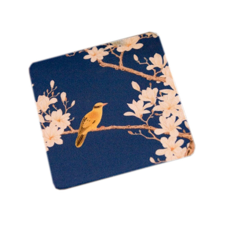 Tigerwings best quality eco-friendly custom rubber coaster for drink