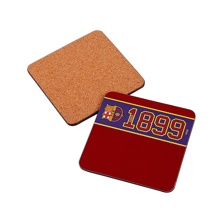 Wood Promotion Custom Cork Coaster Blank / Cup Mat / Cup Pad