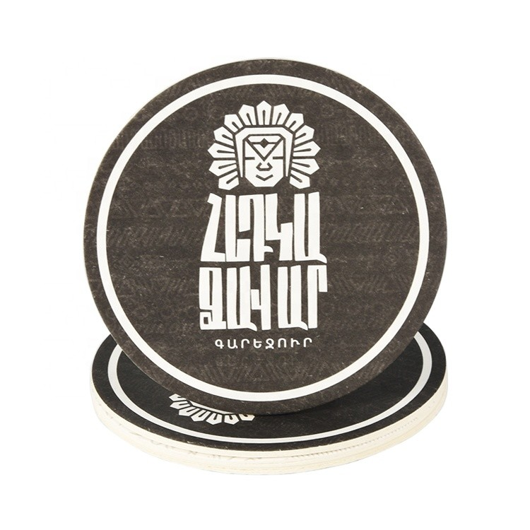 Cup Mat Disposable Paper Beer Coaster