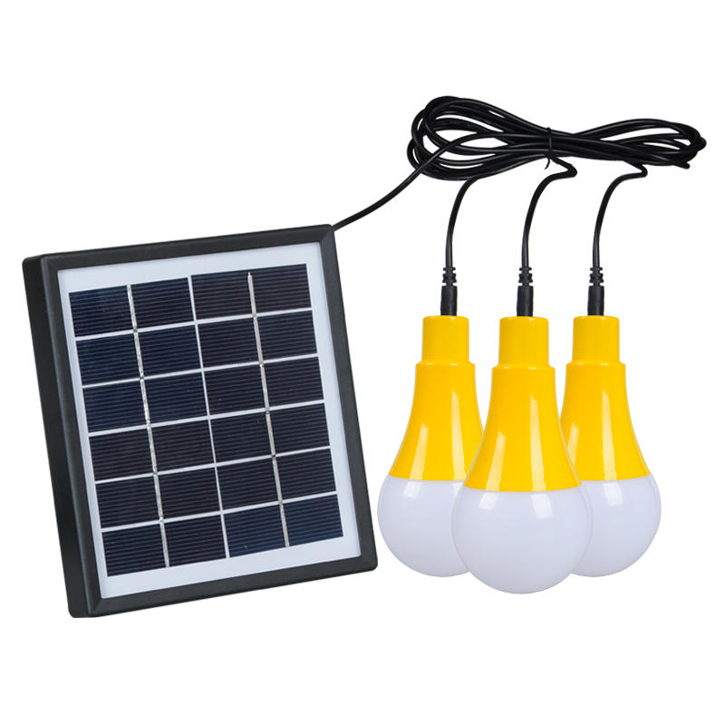 ALLTOP High brightness energy saving lighting fixture ip65 waterproof outdoor 5w solar led bulb light