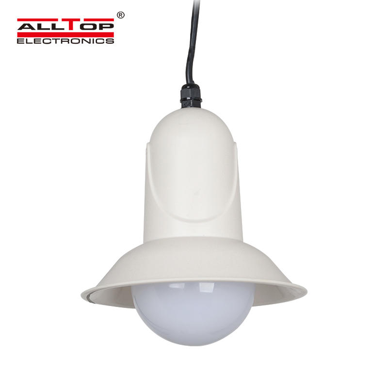 New product commercial 5W outdoor modern solar led pendant light