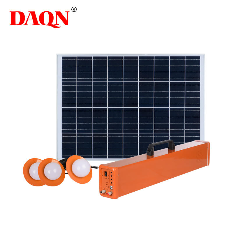 High quality off-grid solar power home multifunction interface 200w solar energy system