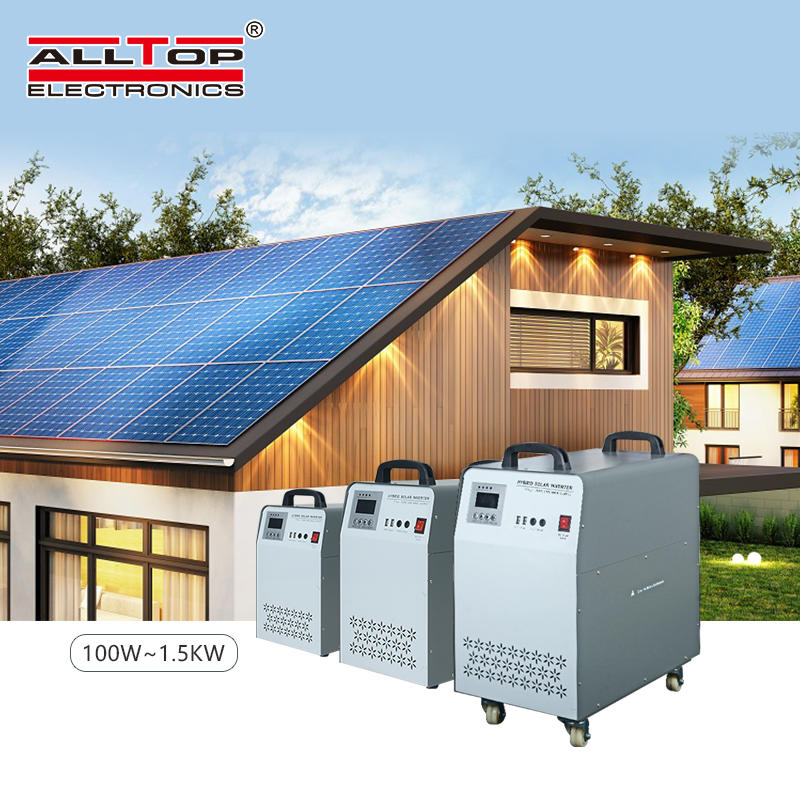 ALLTOP High quality sine wave solar energy inverter 1kw 2kw 3kw 5kw 6kw solar power system with home