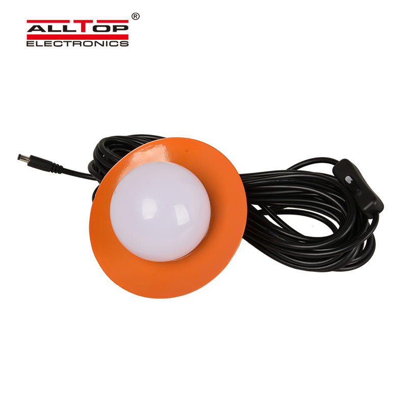 ALLTOP Hot selling portable electricity generating solar power system with bulb