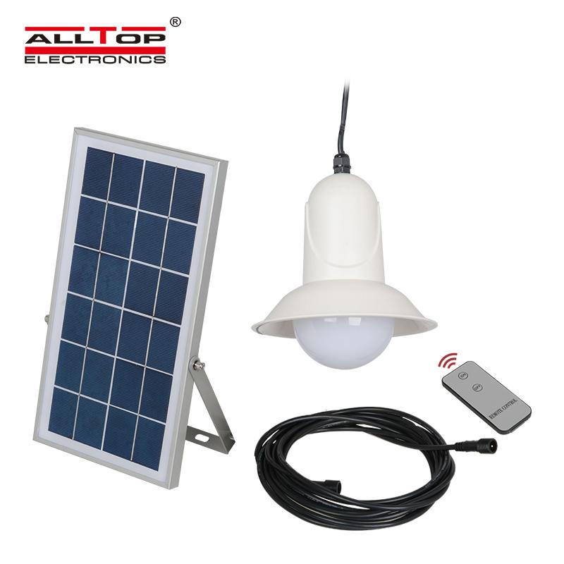 New Designs 5w bridgelux solar panel recessed outdoor solar led pendant light