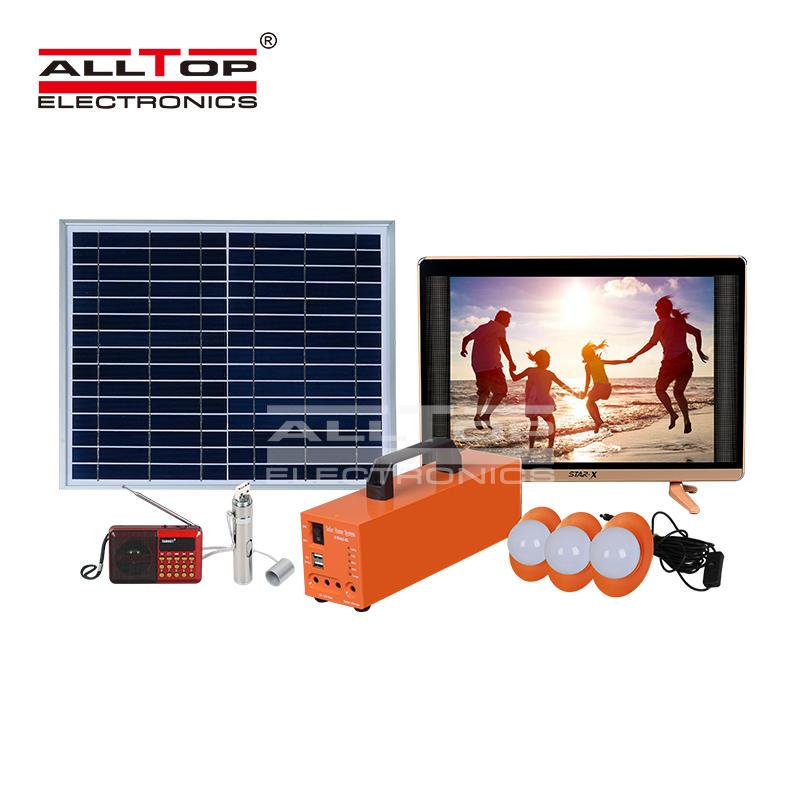ALLTOP High efficiency 20watt 30watt 50watt home solar power system