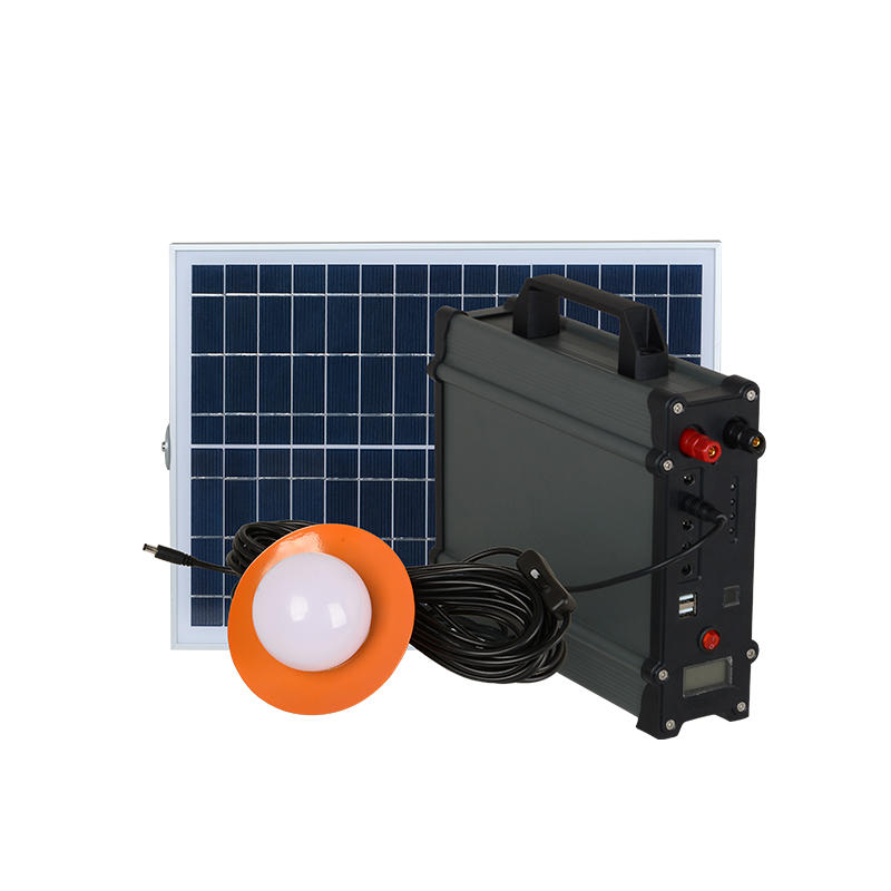 ALLTOP High quality aluminum pc housing electricity generating 20w 30w 50w 100w solar power system for home