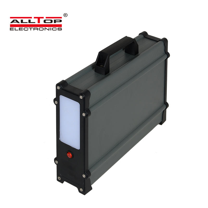 ALLTOP High quality electricity generating solar lighting panel power system for home