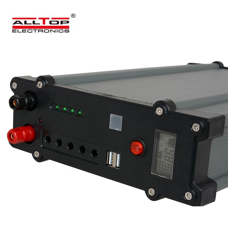 ALLTOP New design electricity generating lighting system 20w 30w 50w 100w solar energy system