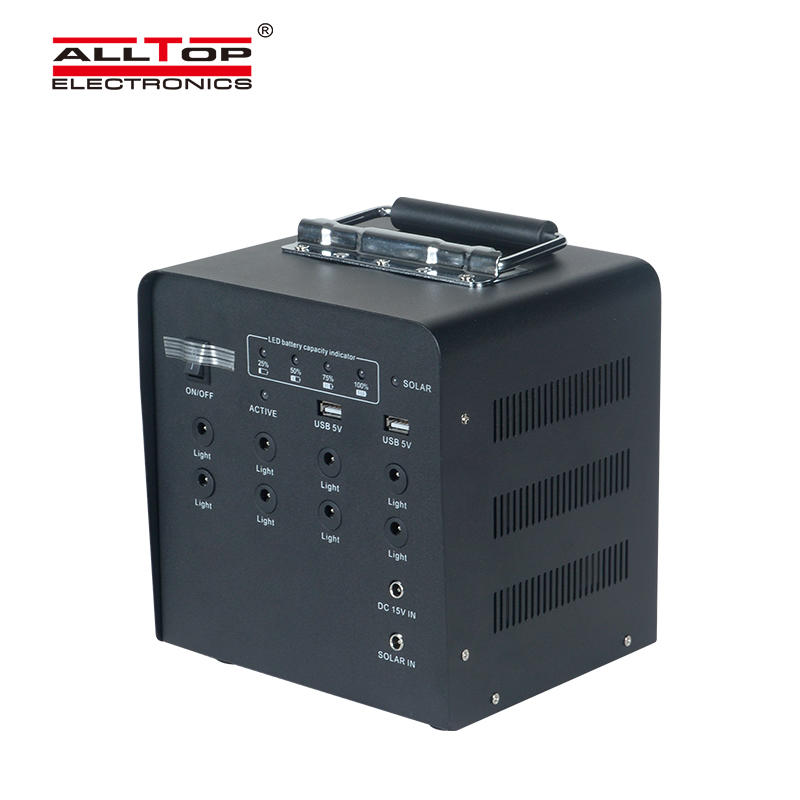 ALLTOP High quality multi function output off grid solar panel home energy saving solar energy system