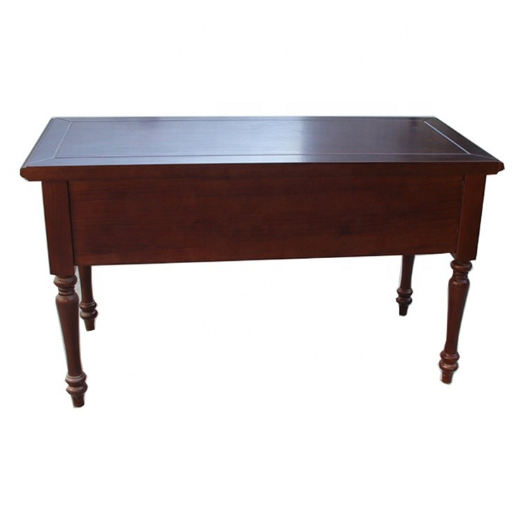 Solid office trade wooden table desk
