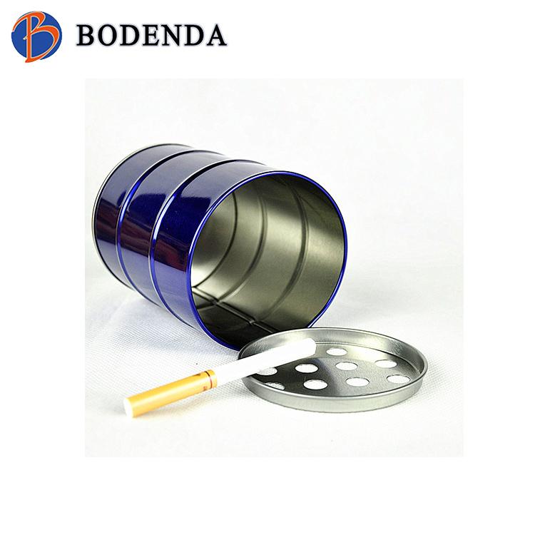 Round personalized metal ashtray/antique metal ashtray/indoor ashtray