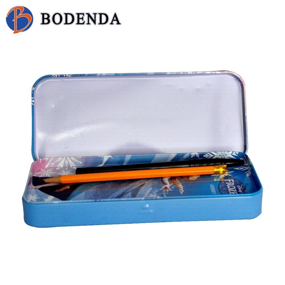 bulk metal school tin pencil case