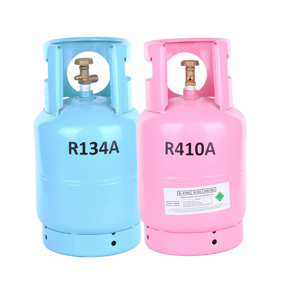 whole sale price R134a refrigerant gas, pure gas 13.6kg 134a