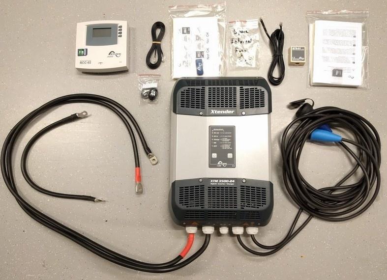 Xtender Xtm2400-24 24V 2400 Watt Digital Inverter for Car