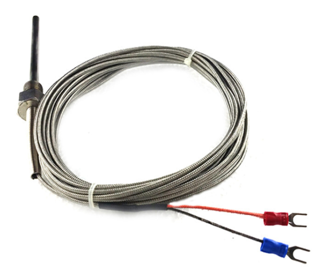 WZP - 291 input pipe temperature sensor Pt100 thermal resistance RTD with shielded wire