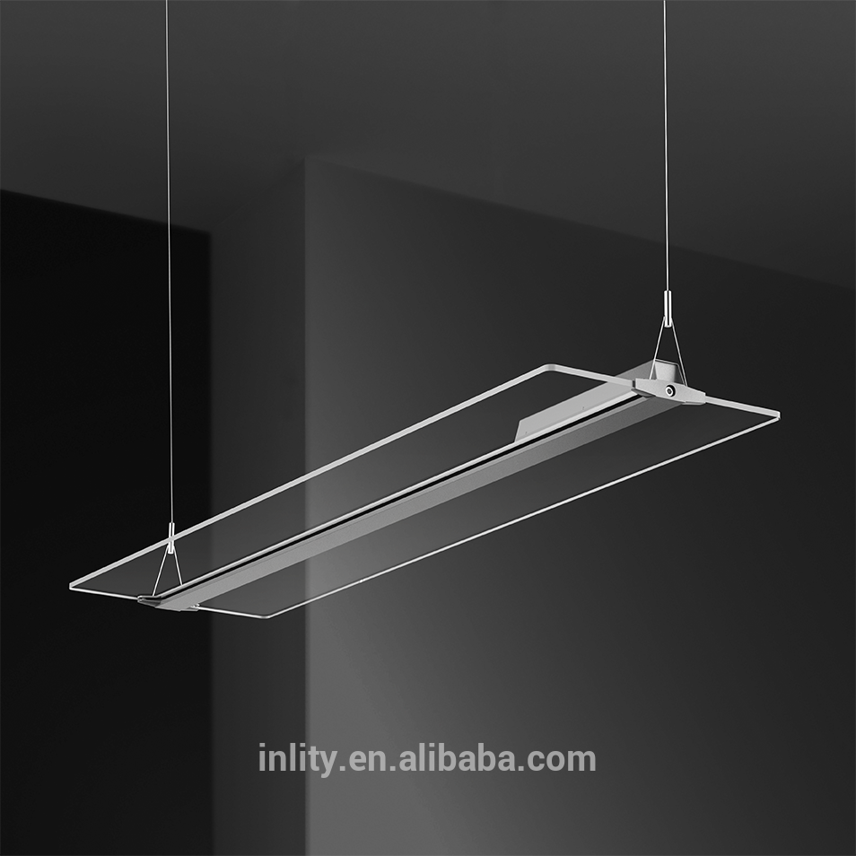 Frameless Transparent Invisible LED light guide pendant
