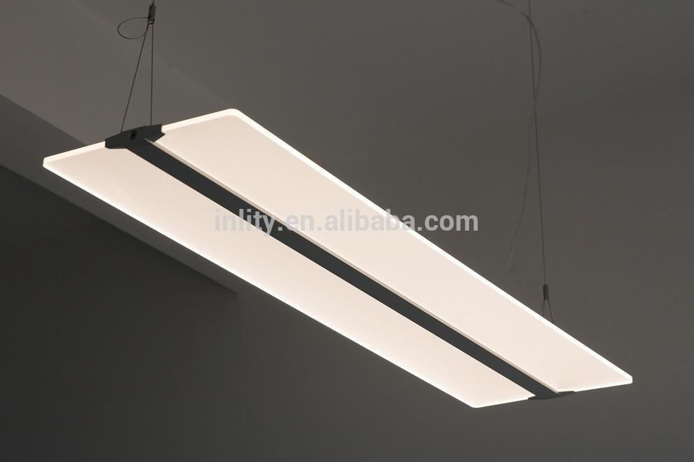 Office LED flat pendant Light