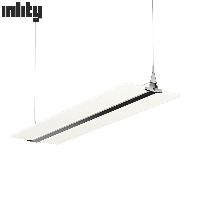 PDX30036 36W clear flat panel kitchen LED pendant light