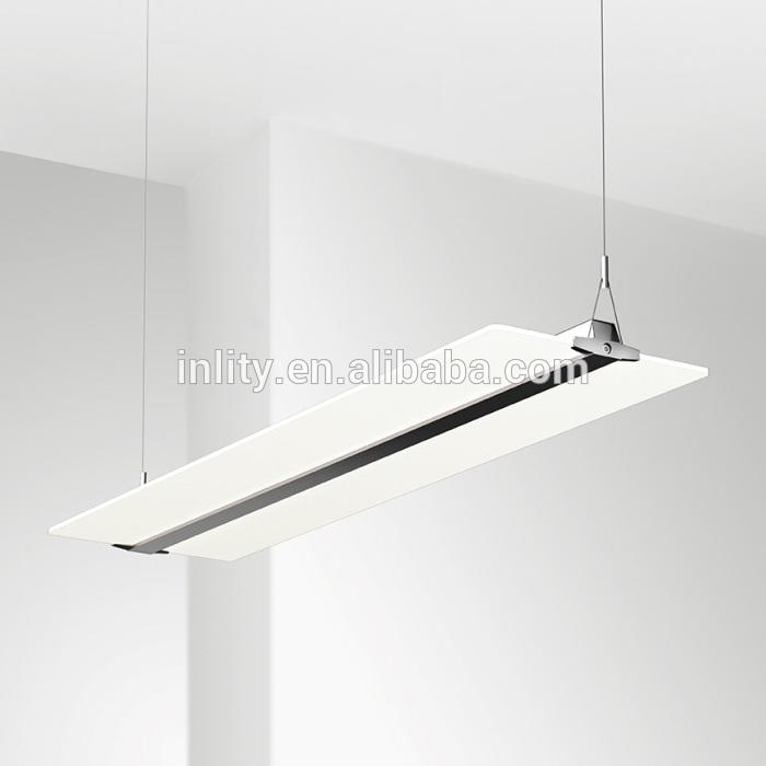 300x1200mm 36W Clear panel light suspension mounted LED pendant light