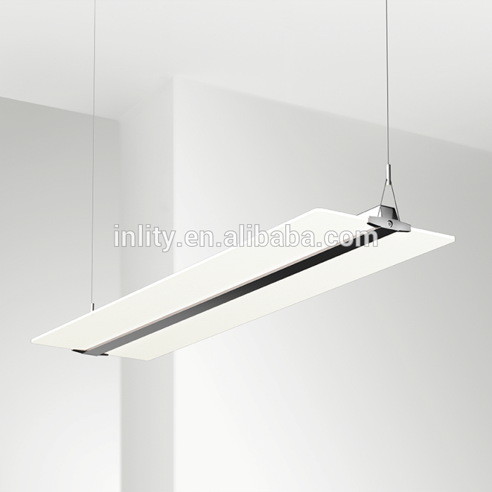 54W Clear Panel Office Light,3000k/4000k/5000k/6000k Panel Pendant Light