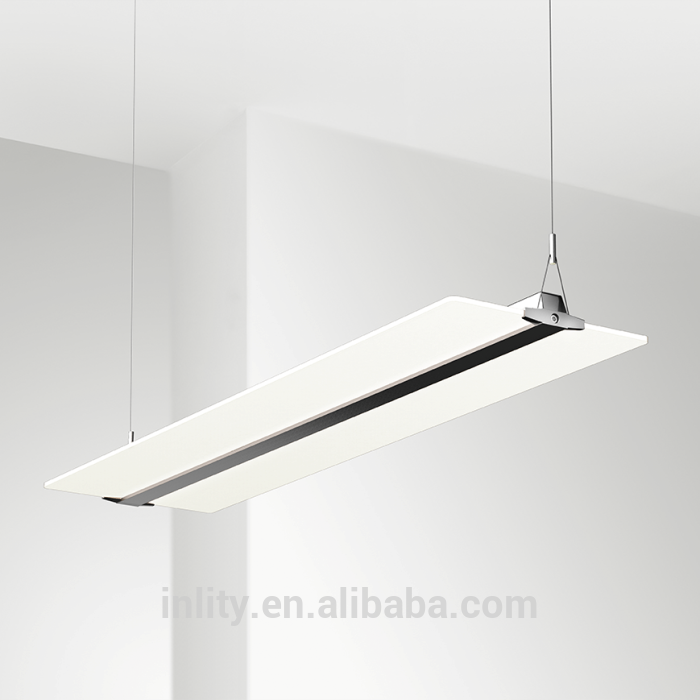 INLITY PDX30054 Suspended 54W Clear Panel Office Light Ultra-thin Only 8mm Clear Panel Office Led Lighting