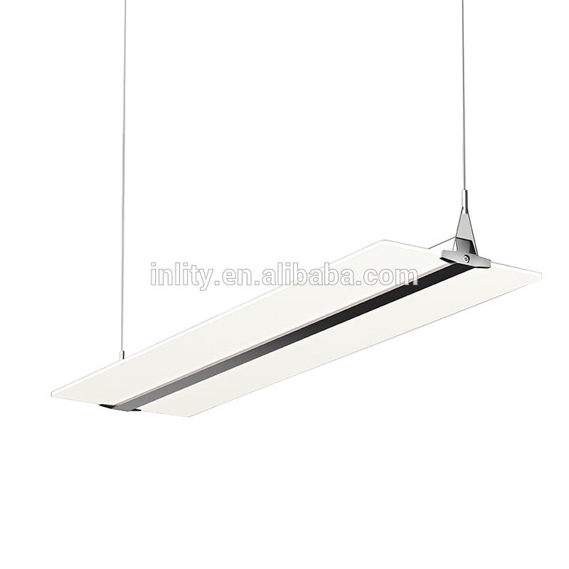 PDX3 LED Pendant Ceiling Light 36W clear panel up and down light