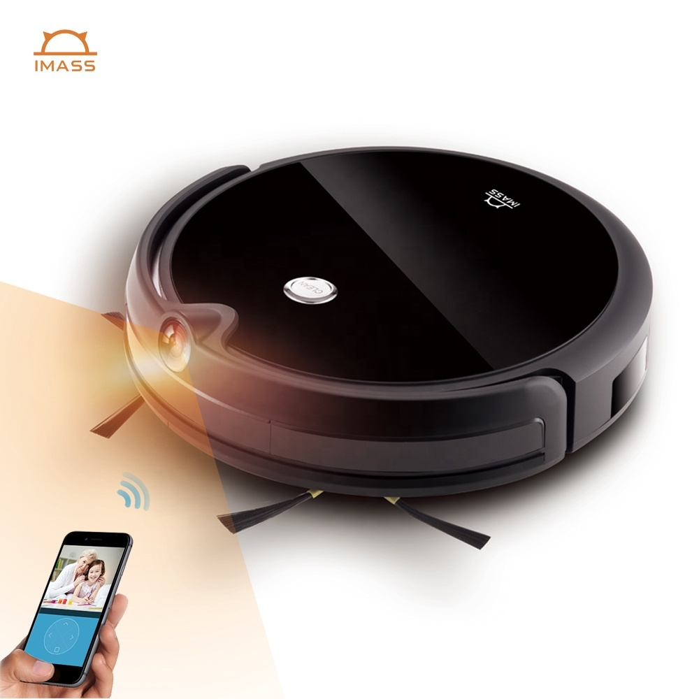 2020 Newest Custom Camera Monitor Map Navigation Robot Vacuum Cleaner With Mobile App Control Vacuum Cleaning Robot