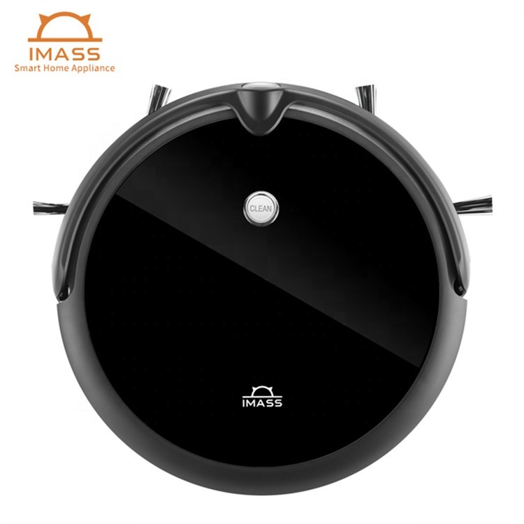 High quality and hot-selling smart robotic vacuum cleaner with camera automatic re-charge suction cleaning robot